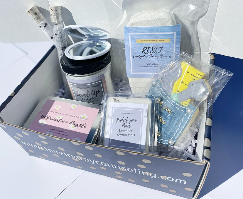 Therapy Box Option 1 _ Love In Gray