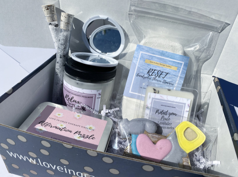 Therapy Box Option 3 _ Love In Gray